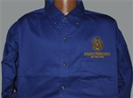 Kansas Mason Long Sleeve Shirt with Logo (Assorted Colors Available)