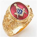 Masonic Ring - 5123 - open back