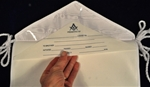 Masonic lamtex 13x15 Candidate Apron with Plastic Flap and Insert