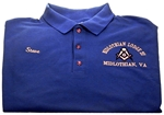 Kansas Masonic Blue Lodge Golf Shirt