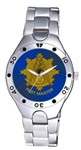 Past Master Watch w/ Rayed Emblem on Blue Face