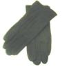 Black Nylon Snap Gloves