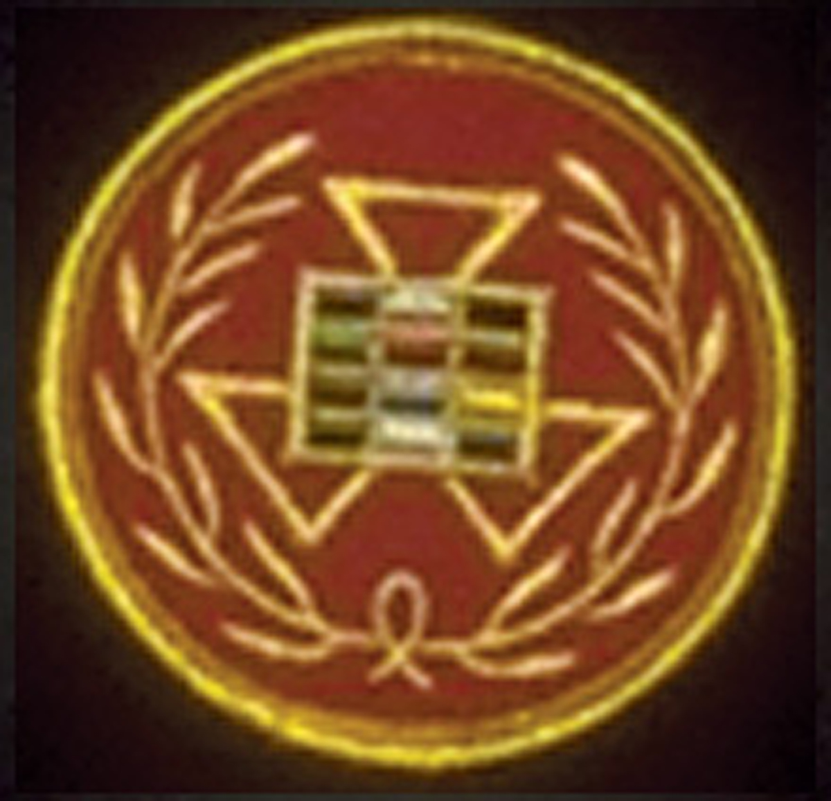 Past Grand High Priest Round Patch Emblem