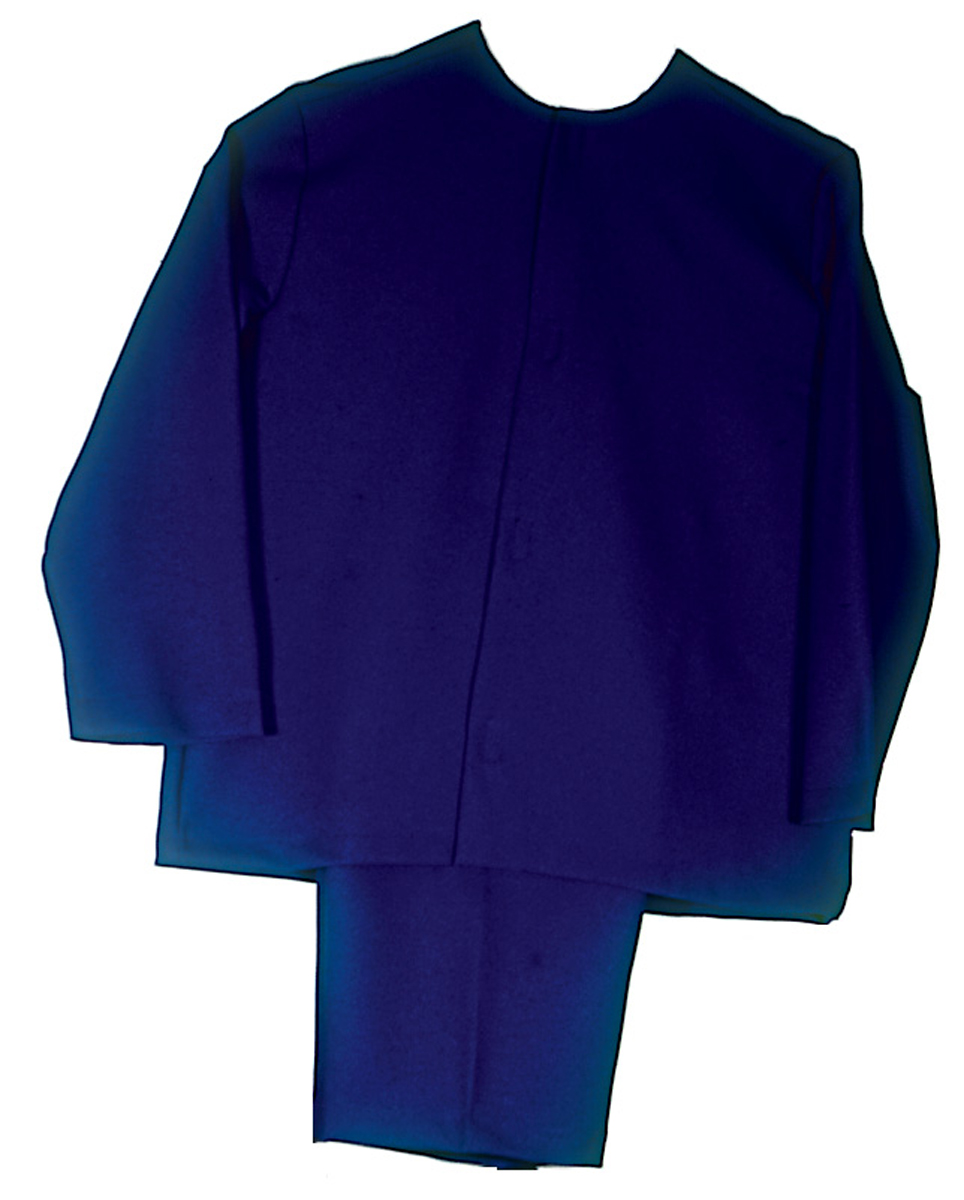 Masonic Candidate Coat and Trousers - Blue
