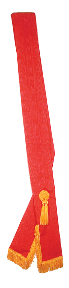 Unlined-Order-of-Amaranth-Officers-Sash-moire-ribbon--P3096.aspx