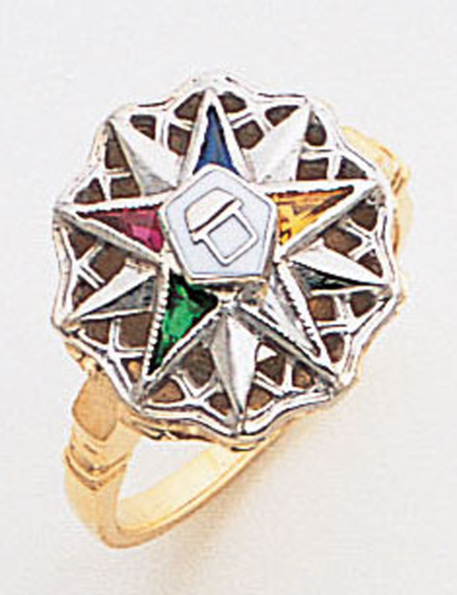 Order of the Eastern Star Ring Macoy Publishing Masonic Supply 8852