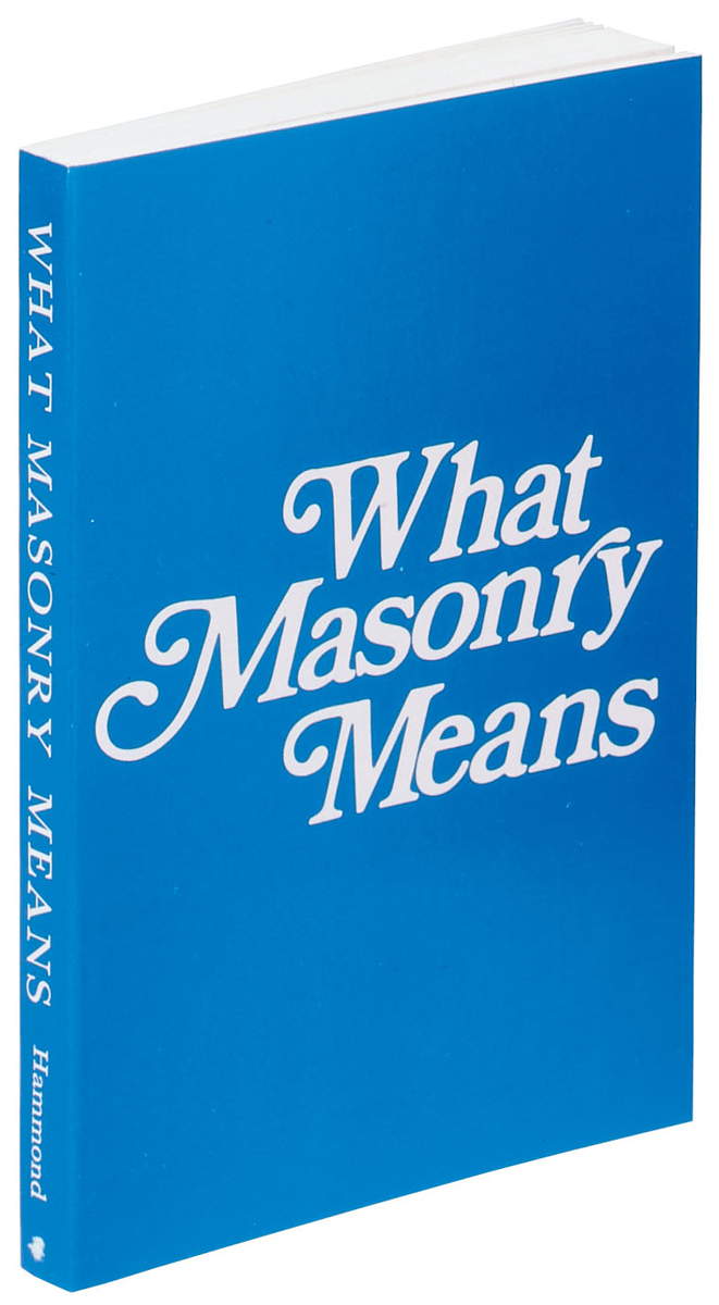 What Masonry Means